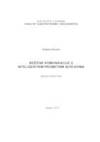 prikaz prve stranice dokumenta Bežične komunikacije u inteligentnim prometnim sustavima