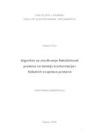 prikaz prve stranice dokumenta Algoritmi za utvrđivanje fleksibilnosti proteina na temelju konformacije i fizikalnih svojstava proteina